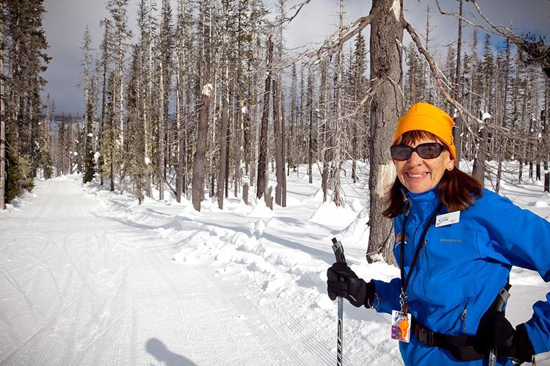 Raquettes et Ski de Cross à bon nombre de nos parcs de belle neige !