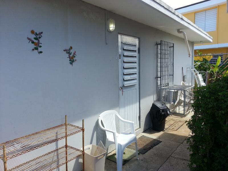 Entrance to 1 bedroom apt