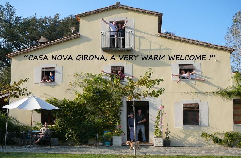 Casa Nova Girona - A very warm welcome ! Benvinguts !