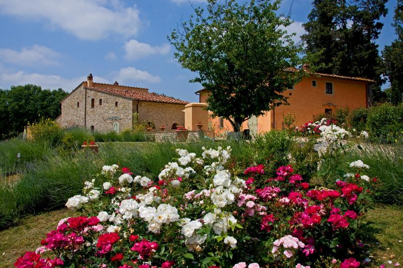 Orciaia country villa, vacation rental in San Casciano in Val di Pesa