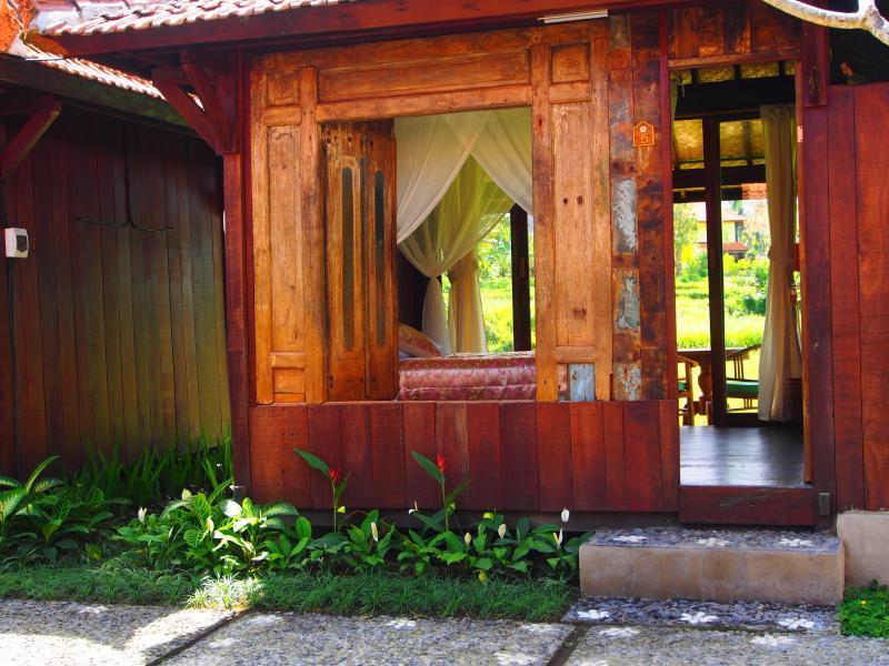 Ventanas y puertas antiguas