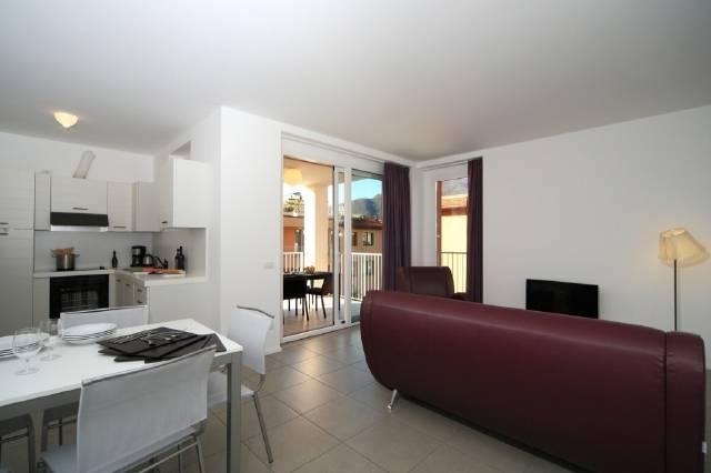 Open plan living, dining and kitchen area