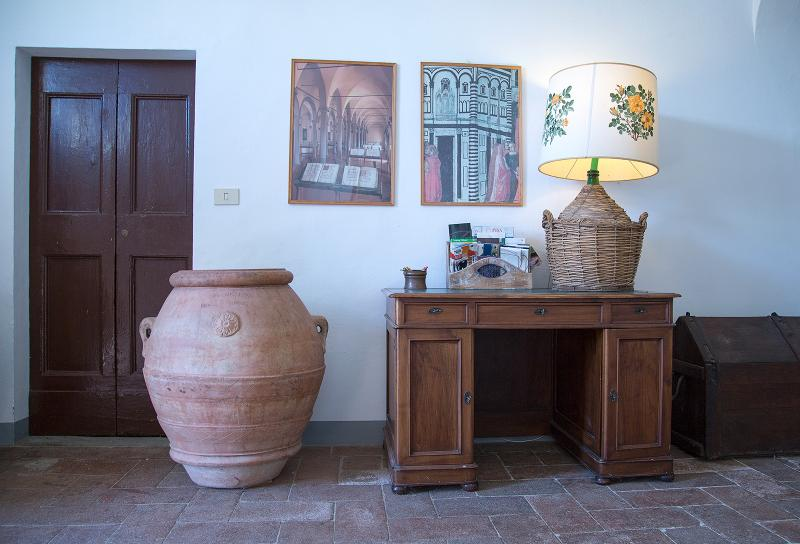 Area for olive oil tastings and tours