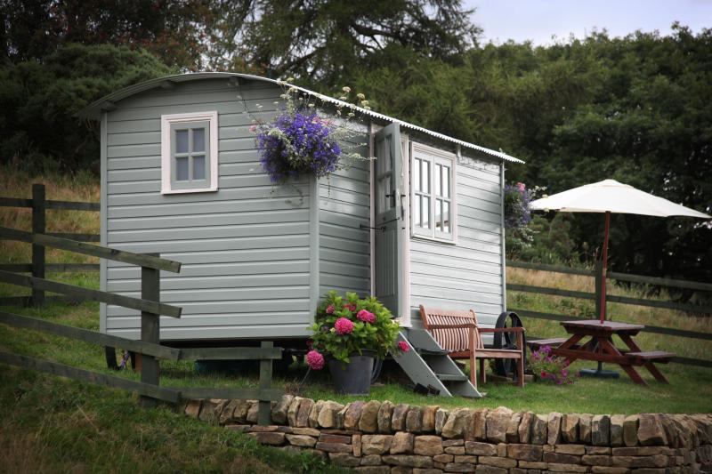 Quarry House Shepherds Retreat, vakantiewoning in Grewelthorpe