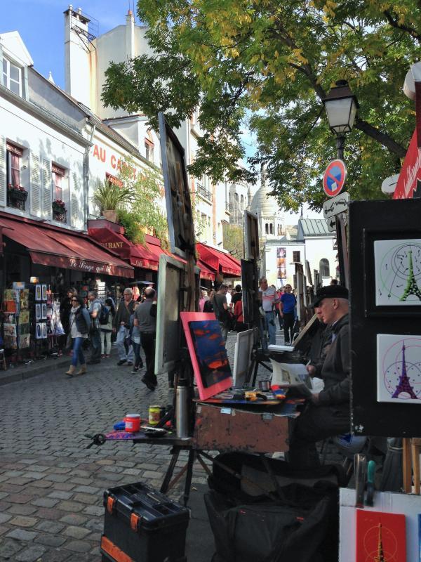 Montmartre Place du Tertre - 10 min. Spaziergang vom apartment