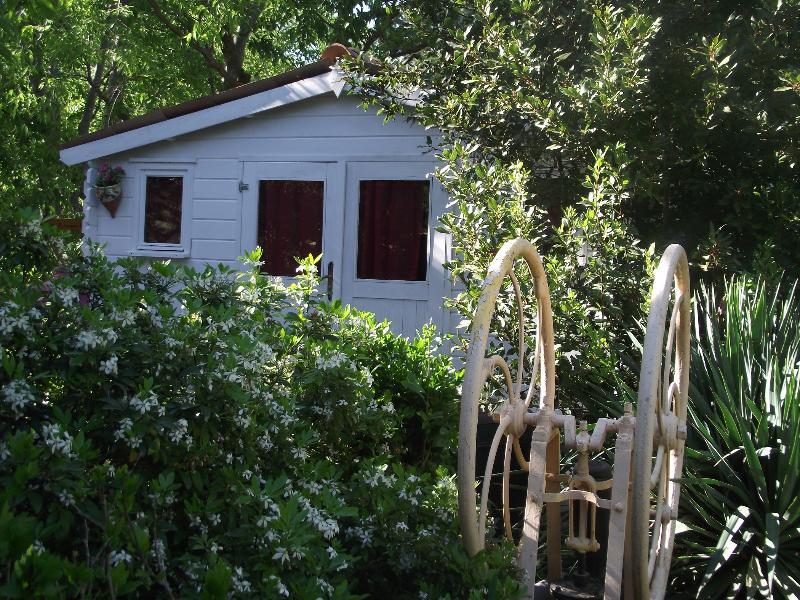 le cabanon et son jardin