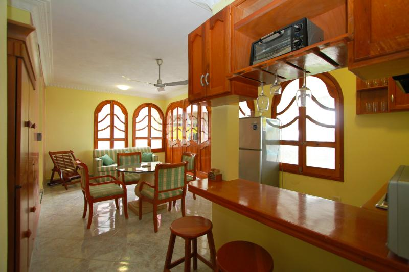 Full equiped kitchen. Fully equipped kitchen