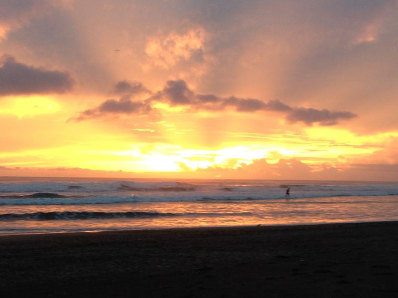 Surfing at Sunset_Marino Ballena Park