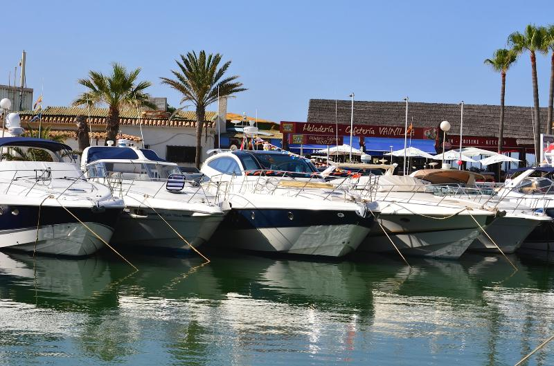 WALKING DISTANCE ALONG THE BEACH TO QUAINT HARBOUR OF CABOPINO WITH RESTAURANTS AND BEACH BARS