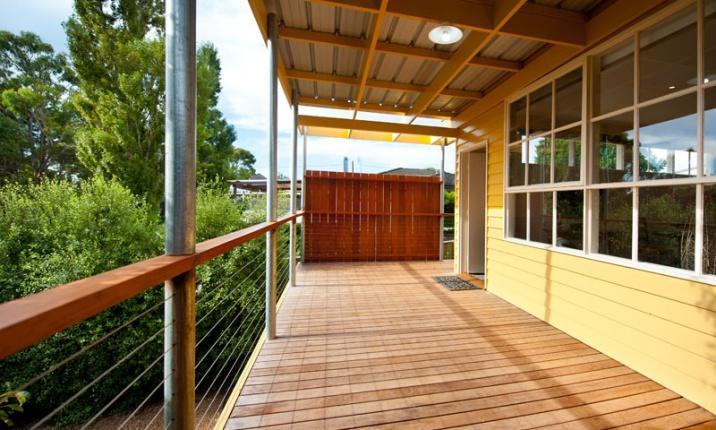Daylesford House Studio - Deck