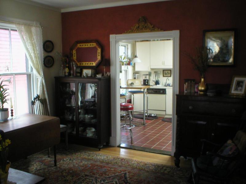 sala da pranzo, cercando in cucina