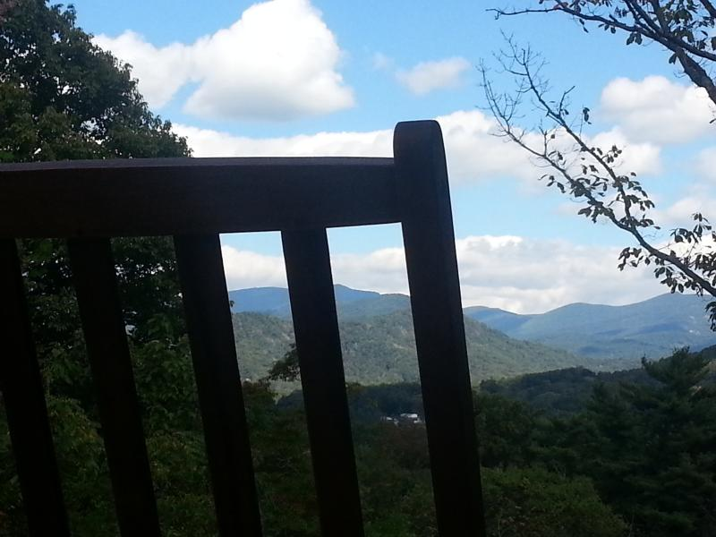 Rocking Chair Front Porch View
