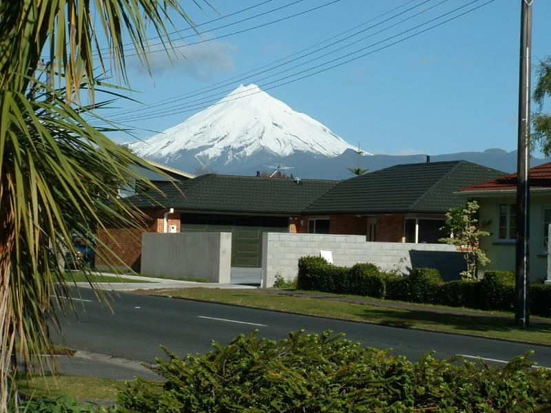 view of house from Pukekura Park