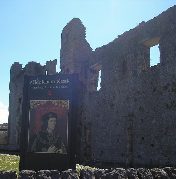 Middleham Castle - childhood home of Richard 111