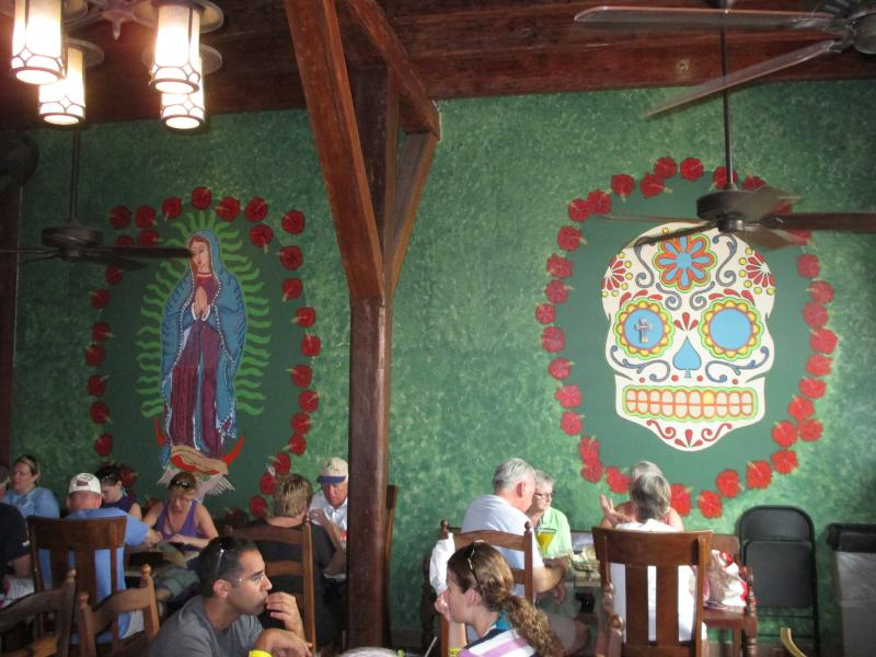Greengos specializes in Mexican-American fare...