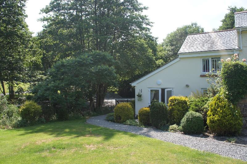 Rear of mole cottage