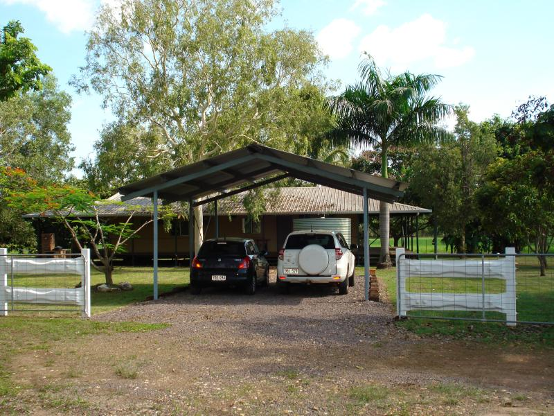 Carport 2-4 cars undercover - lots of room elsewhere for boat, trailer etc