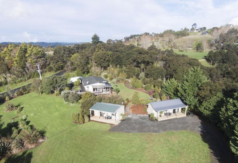 View of Auckland Country Cottages