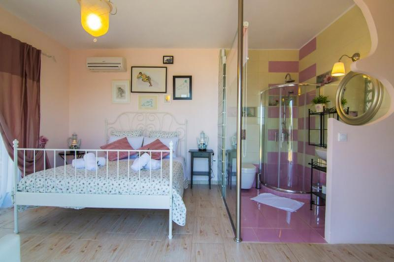 The third bedroom with ensuite bathroom