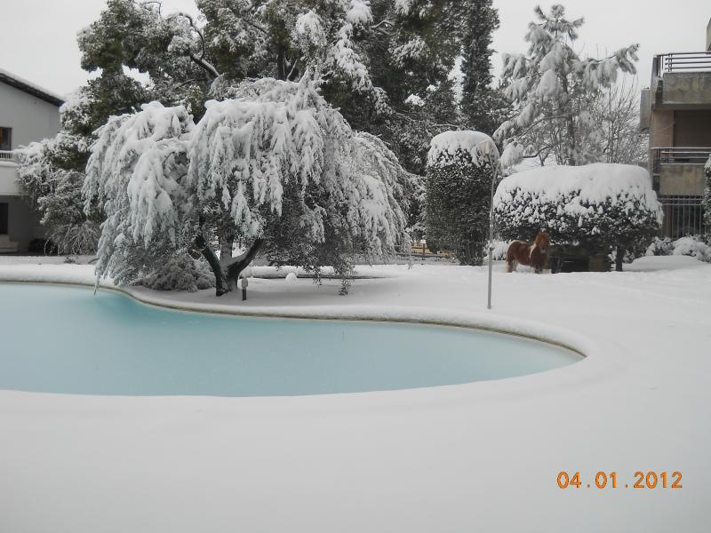 la neve al Relais la Canfora