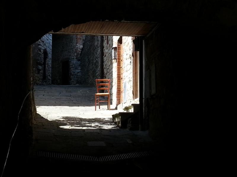 A quiet corner in medieval Montone, the village next to Countryhouse Agriturismo Lariete