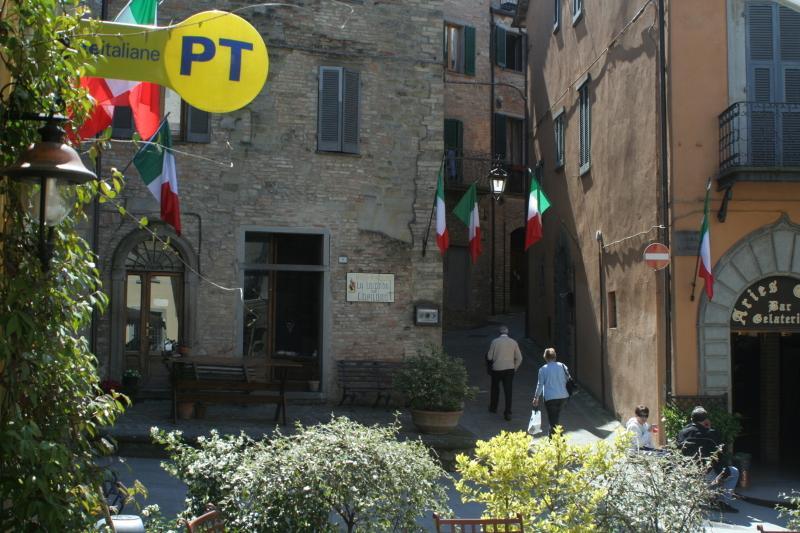 Montone, the picturesque  main square