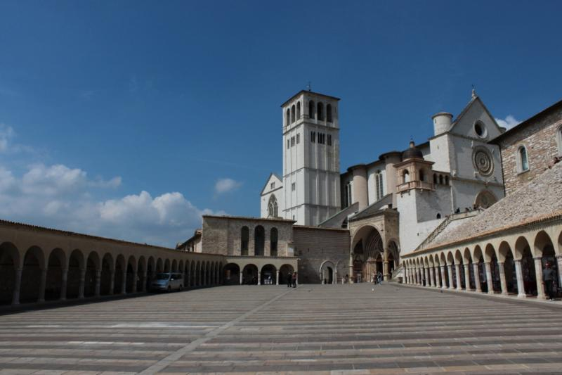 Assisi - just a 35min drive away