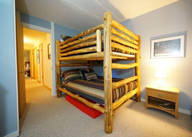 Peak 8 Village Bunk Bedroom Breckenridge Lodging