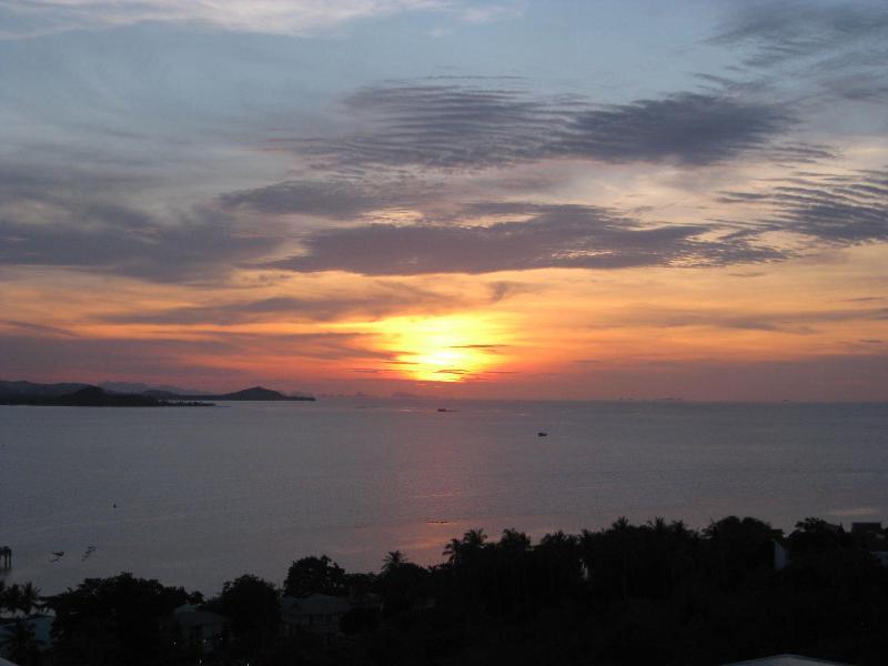 grote zonsondergangen...