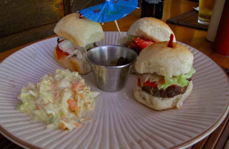 mini sliders for lunch