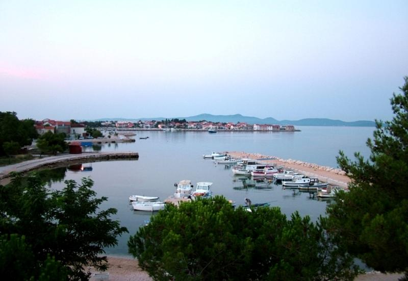 Bibinje seaside and beach