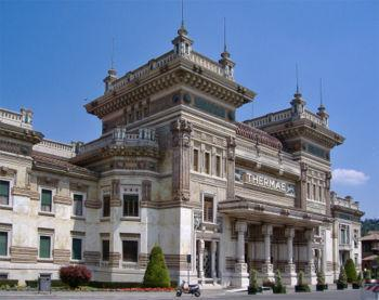 SALSOMAGGIORE.  THE FAMOUS HEALTH AND BEAUTY SPA