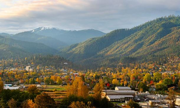 Downtown Ashland in the Fall