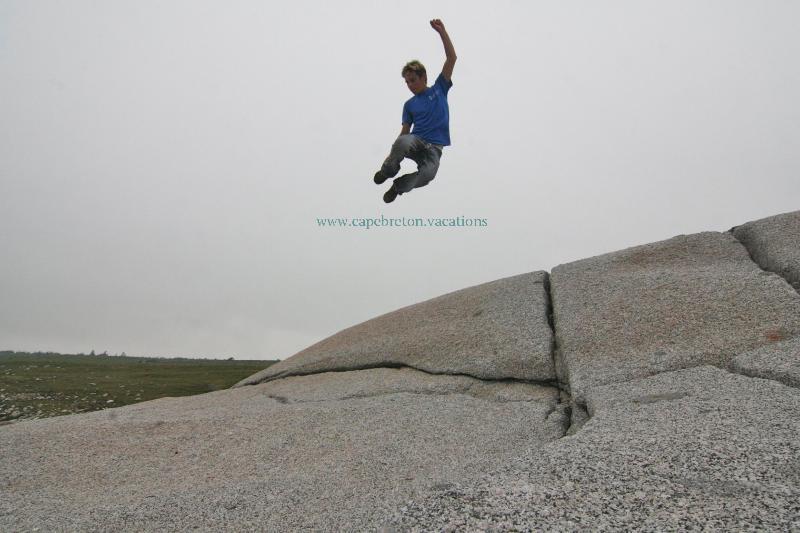 fun on the rocks