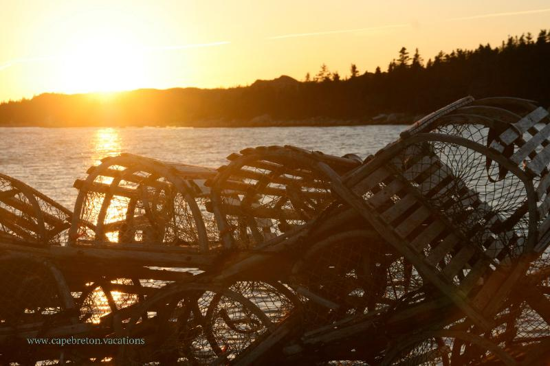 you find lobster traps almost everywhere here on the lobster island