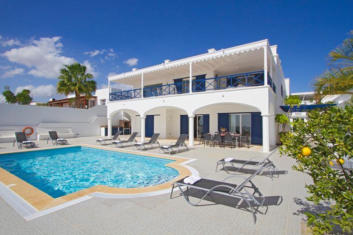 Beautiful 5 bed villa in the marina of Puerto Calero  LVC198572, vacation rental in Puerto Calero