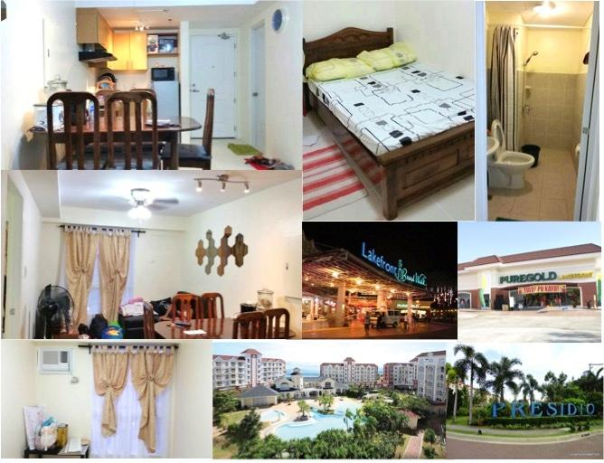 1BR Condo at Sucat Presidio Lakefront near airport, vacation rental in Muntinlupa