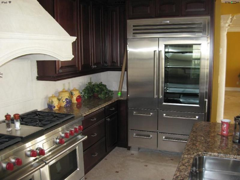 Subzero Refrigerator and Freezer Ice Maker and Wine cooler