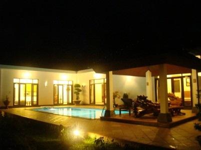 Villa by night