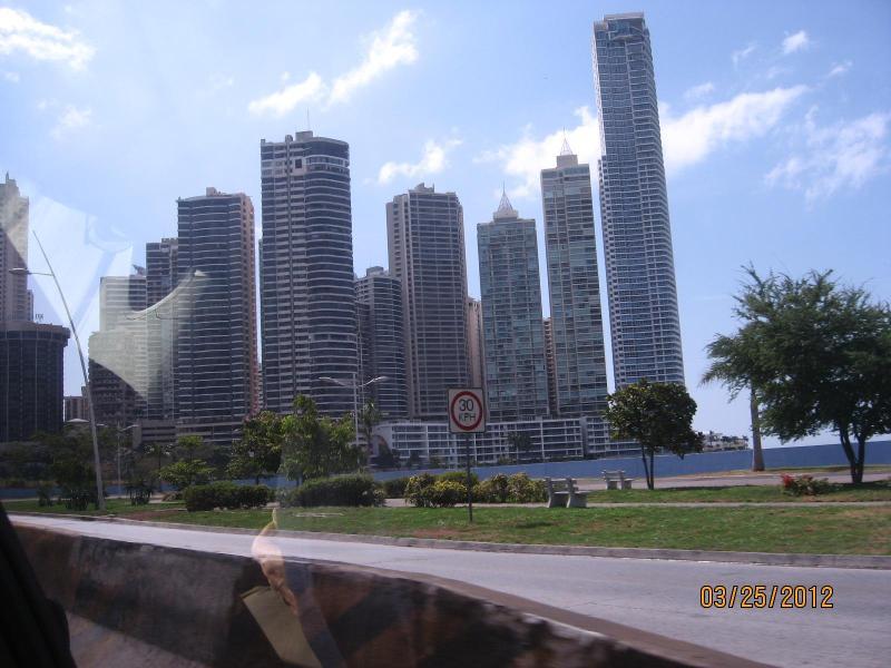 View of Panama City