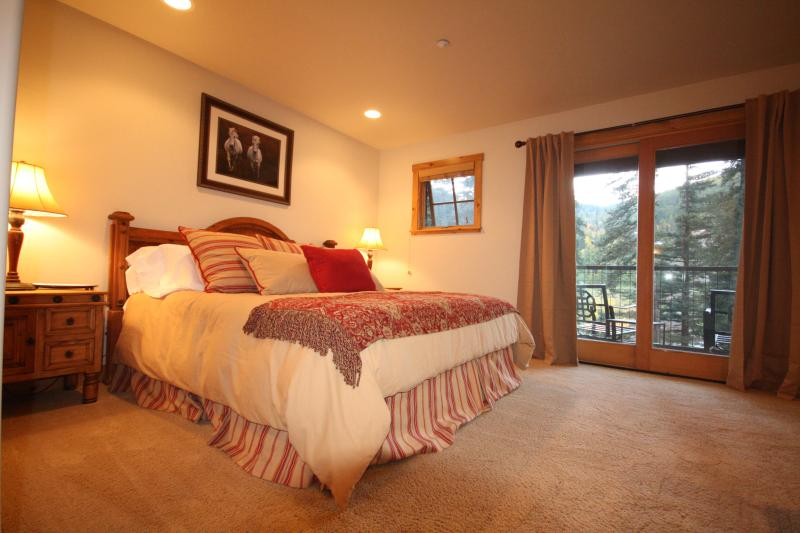 Master Bedroom with Private Deck and Spectacular Views