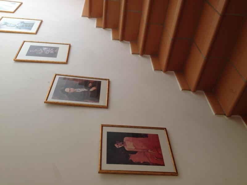 L'escalier - avec nice art léger et français...