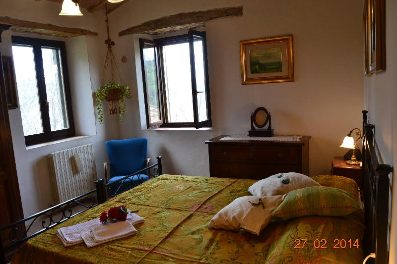 Double room - It can be with single beds + baby bed