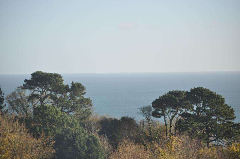 Stunning sea view in Stoke Fleming near Dartmouth, holiday rental in Bowden
