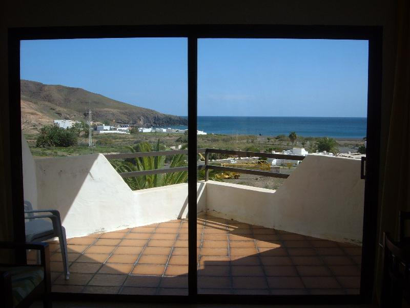Terrace and sea view seen from the interior