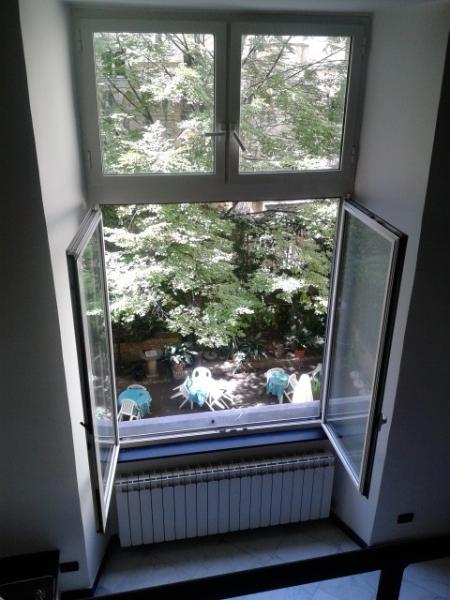 The big window of the loft