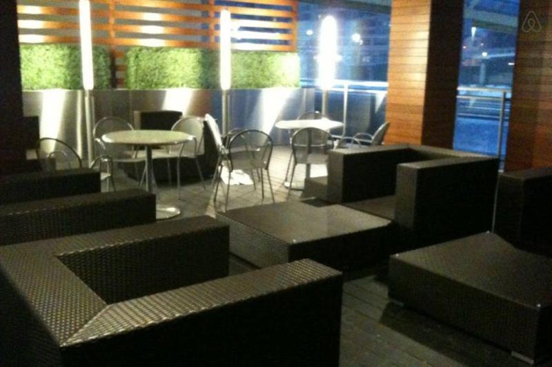 Patio - amenities area