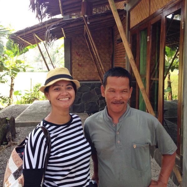Amalia (owner - Jakarta base) & Ondi (handyman - Java base)