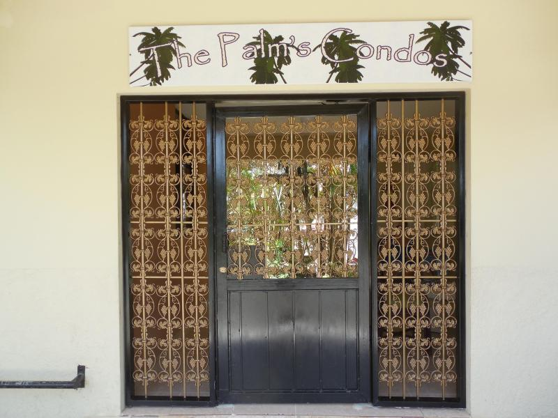 The Palms entrance
