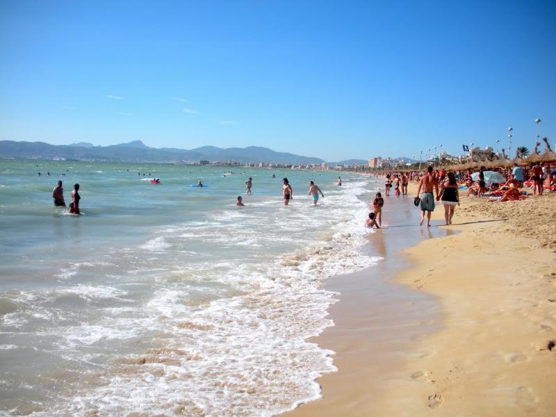 El Arenal-Strand